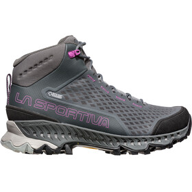 La Sportiva W's Stream GTX Shoes Carbon/Purple